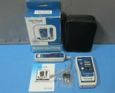 TRENDnet TC-NT2 Network Cable Tester - New with Carrying Pouch and Accessories