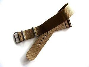 NATO ® strap watch band G10 Ballistic nylon Military RAF stitched bond IW SUISSE