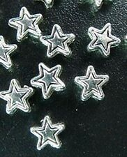 150pcs Tibetan Silver Star Spacer Beads 4mm R218