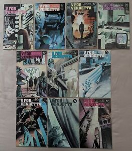 V for Vendetta 1-10 Complete 1988 Alan Moore David Lloyd