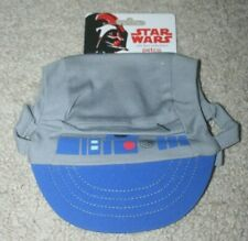 "NEW Petco STAR WARS ""R2-D2""  Hat Grey Puppy/Dog xlarge/large L/XL"