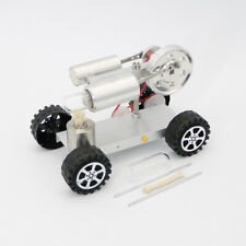 Mini Hot Creative Air Stirling Engine Motor Model Educational Toy Car Kits Goods