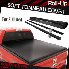 1999-2017 FORD F-250 F-350 F-450 SUPER DUTY Roll Up Tonneau Cover 8' FT Long Bed