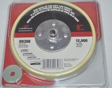 """Carborundum 6"""" Sander Disc Back-Up Pad Soft Low Profile Grip-On 99308"""