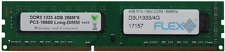 4GB,240-pin DIMM,DDR3 PC3-10600U,Doble fila,NO ECC módulo de memoria ram por