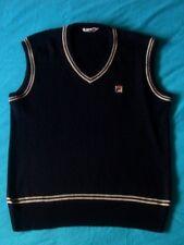 VEST Gilet vintage '80s FILA era Borg TG.50 veste M/L  made in Italy RARE