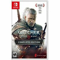 Witcher 3: Wild Hunt For Nintendo Switch
