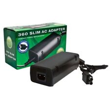 Xbox 360 Slim AC Adapter - Replacement Power Supply - double barrel connector
