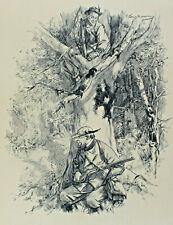 Arthur Langhammer 1854 - 1901 - Hunter sur La Chasse