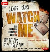 JAMES CAROL - WATCH ME-ICH WERDE ES WIEDER 2 MP3 CD NEW