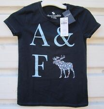 A & F BLUE COLORS DEER  Kinds Girl SIZE XXS TO L T-Shirts,NWT,Ret. $12.95+,HOT