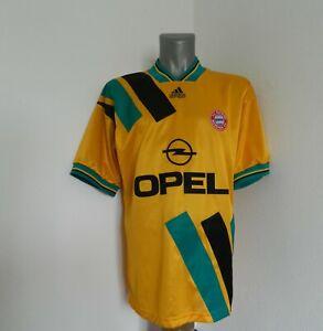 Bayern München #18  Jürgen Klinsmann ? Shirt Jersey ADIDAS OPEL 1993-95 L SIZE