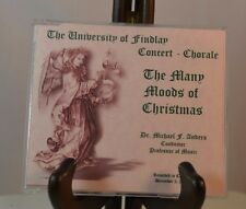 THE MANY MOODS OF CHRISTMAS 2000 BY THE UNIVERSITY OF FINDLAY CONCERT CHORALE CD