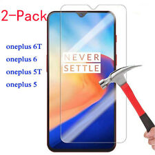 For OnePlus 6T 6 5T 5 3T 3 Screen Protector 9H HD Tempered Glass Film Skin Case