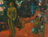 Delectable Waters Paul Gauguin Fine Art Painting Reproduction Print on Canvas SM