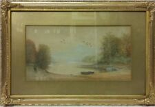 Watercolour Landscape Modern (1900-1979) Date of Creation Art Paintings