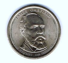 2011-P $1 James Garfield Brilliant Uncirculated 20TH Presidential Dollar Coin!