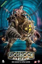 THREEZERO OFFICAL BIOSHOCK BIG DADDY AND LITTLE SISTER 315MM 1/6 VIDEO GAME NEW