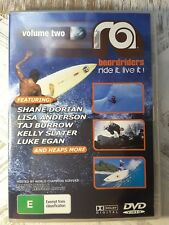 Ra Boardriders Volume 2 DVD - Ride it live it Surfing Skateboarding Snowboard