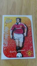 Manchester United Futera 1999 Fans Selection Cutting Edge Embossed Card CE6