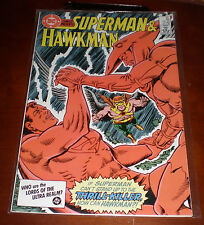DC Comics Presents - Superman & Hawkman July 1986 #95