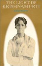 The Light of Krishnamurti by Blackburn, Gabriele