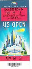 2014 US OPEN TENNIS FEDERER VS CILIC AND DJOKOVIC VS NISHIKORI TICKET STUB 9/6