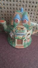 Mercuries Bunny Carrot Store Teapot 1994 Collectible
