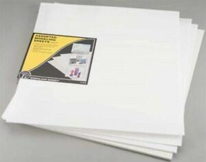 WOODLAND SCENICS C1177 Assorted Modeling Sheets (4)