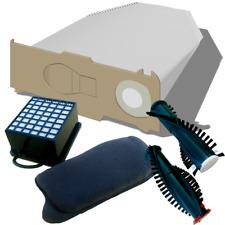 Duft  geeignet für Vorwerk Kobold 130 131 SC Beutel Filterset