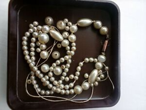 Antique Pearl Necklace (Needs Re-threading)