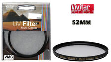 Vivitar VIVMCUV52 Multi-Coated UV Glass Filter, 52mm