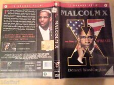 "16AFFARI INTROVABILE  RARO FILM SNAPPER  DVD ORIGINALE "" MALCOM X  """