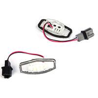Lámpara de luz de matrícula número 18LED para Honda Accord CRV/Acura MDX TL TSX