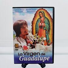 La Virgen De Guadalupe DVD 2004 Spanish Drama Trujillo Allende Chain Gonzalez