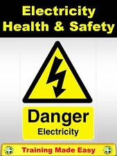 Electrical Safety Electricity at Work Regs Health & Safety Training Made Easy
