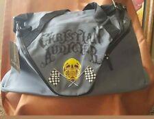 Ed Hardy CHRISTIAN AUDIGIER Duffle Bag Skull Racing Checkered Flags-NWT a4e5fc49e7