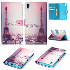 HOT Paris Eiffel Tower Love Story wallet slot flip leather Case cover for phones