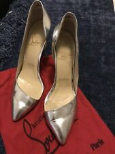 Silver Pumps Size 37