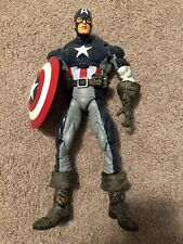 "2006 Toy Biz Marvel Legends Icons Ultimate CAPTAIN AMERICA 12"" Custom Figure"