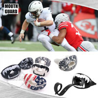 Shock Doctor Lip Guard Mouth Guards & Straps Max Airflow Mouthpiece Football US