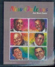 JAZZ ROOTS SERIES Mini Sheet of 6 #2525 MNH - St.Vincent E111