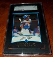 2001 Bowman #430 Jose Reyes New York Mets Rookie RC SGC 92 NM/MT+ 8.5