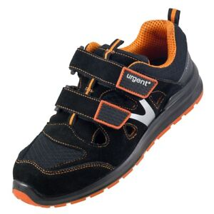 Urgent 309 S1 work sandals with steel toe Safety shoes Summer breathable