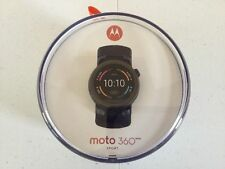 Motorola Moto 360 Sport Smart Watch BL 45mm NEW PRIORITY SHIP 00865NARTL 2ND GEN