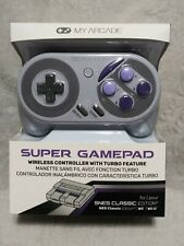 MY ARCADE SUPER GAMEPAD WIRELESS CONTROLLER. NEW IN BOX!!!