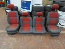 VW Lupo GT 6X Arosa Innenausstattung grau rot Sitze vorne Rückbank hinten Velour