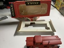 VTG HO Scale Tyco PENN CENTRAL Caboose Car With Box