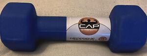 CAP Hex Neoprene 8 lb Dumbbell New