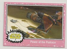 2016 STAR WARS JOURNEY TO THE FORCE AWAKENS PINK NEON #2 POWER OF THE PODRACE